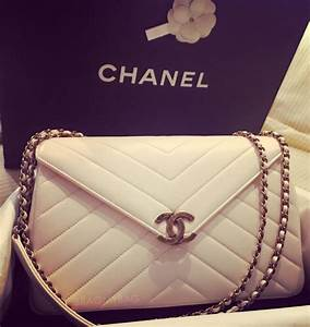 Shopping With Erika: Chanel Vintage Chevron Quilted Flap ...