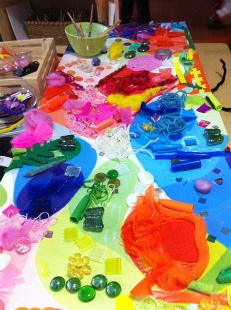 109 best images about color mixing with children on 678 | 214e3fd22241e58ba5b092dac52ac285 collaborative art group art