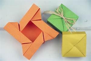 Geburtstagskarte Basteln Einfach : diy origami boxen falten super einfach ~ Orissabook.com Haus und Dekorationen