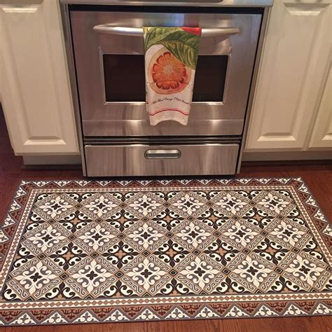 decorative kitchen floor mat affordable and stylish floor mats for kitchen areas 6499