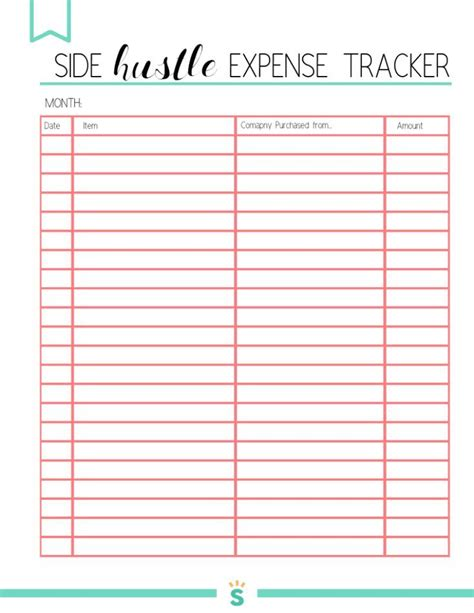 printable small business planner  small