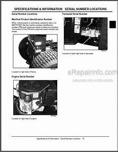 John Deere L100 L110 L120 L130 Technical Manual Lawn