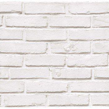 papier peint papier brique loft blanc leroy merlin