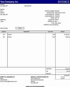 download general invoice template for free formtemplate With invoice template thank you for your business