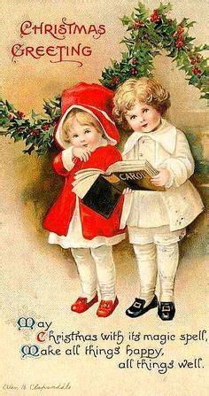 vintage christmas images public domain condition