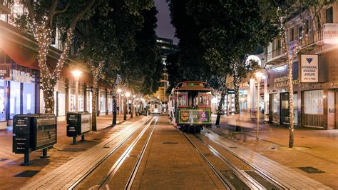 san francisco san francisco california ca usa trolley