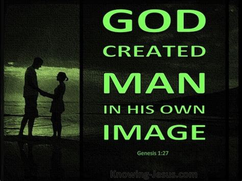 God Created In His Own Image Genesis 1 27 Verse Of The Day