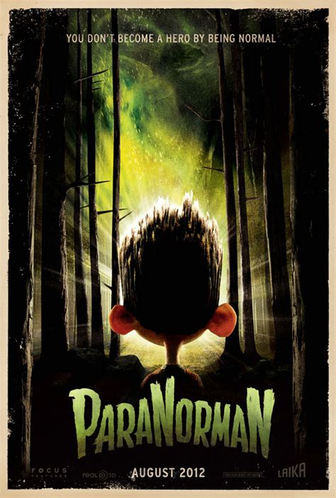 paranorman poster coraline teaser zombie film movie animated norman movies animation laika characters trailer hollywood stop motion zombies filmmakers dvd