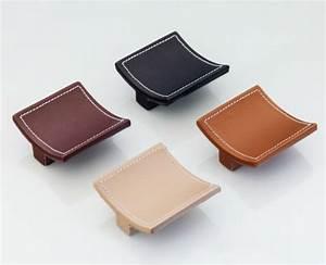 Poignée Meuble Cuir : petites tailles diff rentes couleurs de boutons de meuble ~ Teatrodelosmanantiales.com Idées de Décoration
