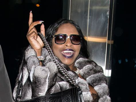 foxy brown  birth  baby girl hiphopdx