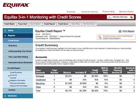 veda credit report equifax credit sle equifax credit bureau report