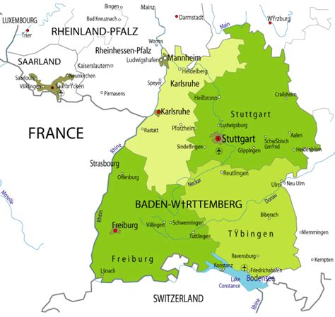 Select the name of the place/address/city (in germany) from the suggested list. Map of German Province: Map of Baden Wurttemberg Province