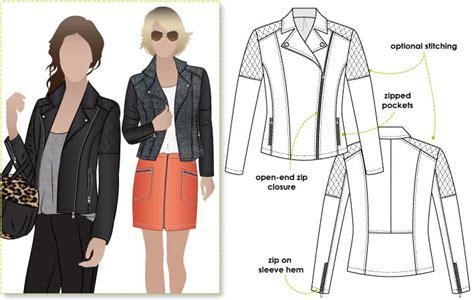 Ziggi Jacket Sewing Pattern
