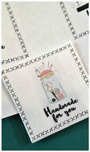 printable diy fabric labels allfreesewingcom With fabric made by labels