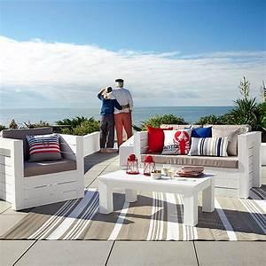 Deco Maison Bord De Mer : mobilier d co de jardin bord de mer maisons du monde ~ Teatrodelosmanantiales.com Idées de Décoration
