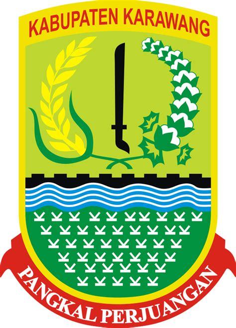 logo kabupaten karawang kumpulan logo lambang indonesia