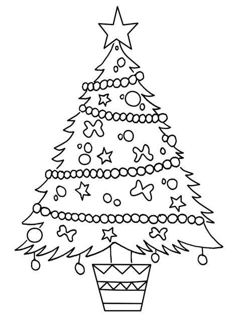 arbol de navidad para colorear www imgkid com the