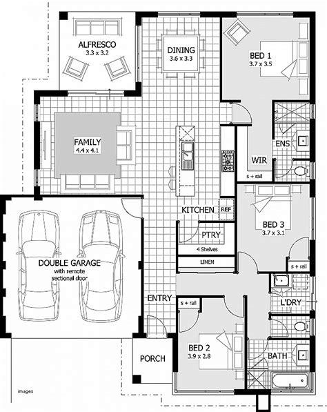 3 bedroom floor plans with garage 3 bedroom house plans with garage indiepedia org