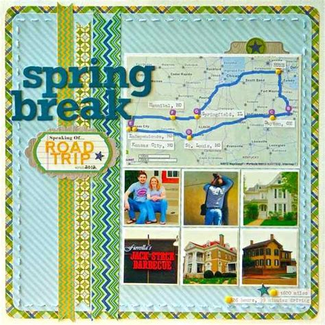 trip ideas ideas for scrapbooking travel when you take a road trip