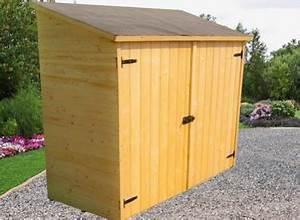 Rangement Buches Exterieur : un abri de rangement en bois pour ordonner son jardin france abris ~ Melissatoandfro.com Idées de Décoration