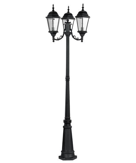 l post light 3 light post outdoor lighting bel air lighting cameo 3