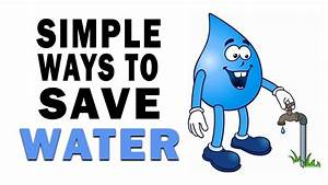 Ways To Save Water Clipart