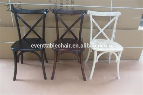 wholesale restaurant used stacking cross back chairs buy