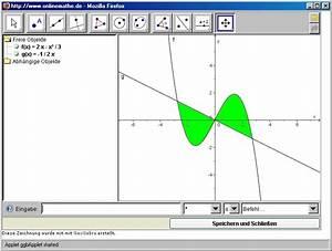 Wendepunkt Berechnen Online : fl chenberechnung zwischen 2 funktionen onlinemathe das mathe forum ~ Themetempest.com Abrechnung