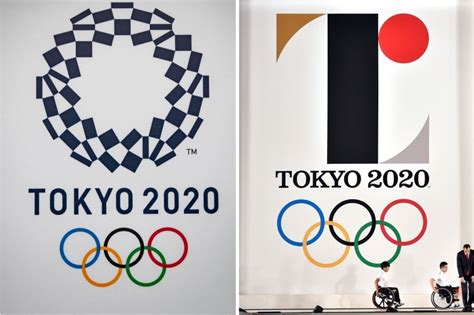 What is the Olympic logo for Tokyo 2020 and was it changed?