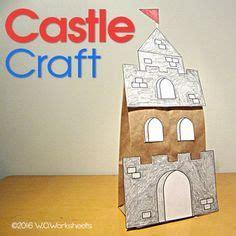 shape castle craft sahm pinterest castle crafts