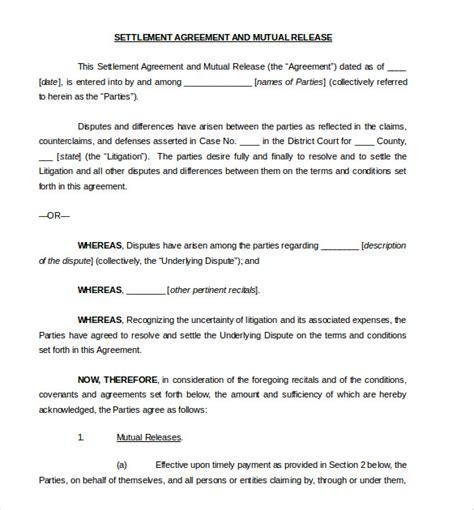 sample settlement agreement  tp gtld world congress