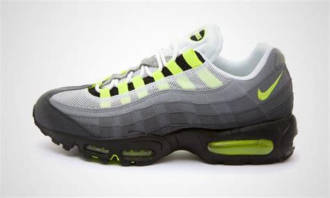 Nike Air Max 95 Og Mens Grey/black/neon Green