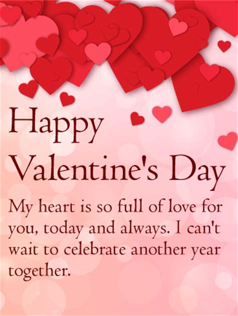 heart  full  love happy valentines day card
