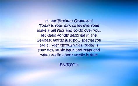grandson birthday verses card verses   wishes