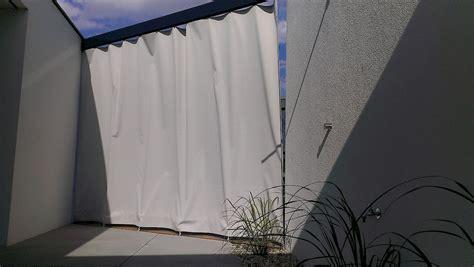 Vorhang Wetterfest Terrasse