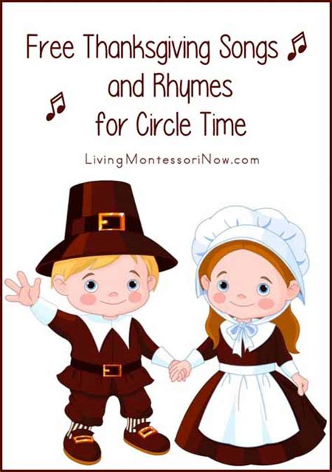 free thanksgiving songs and rhymes for circle time 235 | Free Thanksgiving Songs and Rhymes for Circle Time