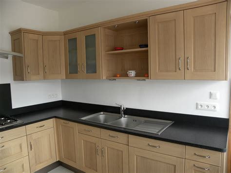 d馮raisser meubles cuisine bois vernis cuisine moderne ch 234 ne naturel verni mat gilles martel