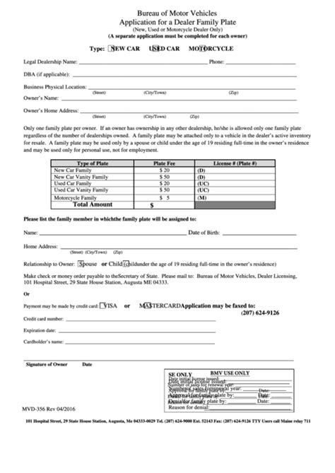 top 9 vehicle registration renewal form templates free to