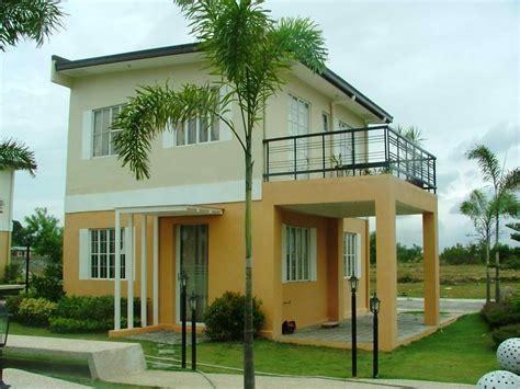 Nice 2 Storey Minimalist Home Exterior  4 Home Ideas
