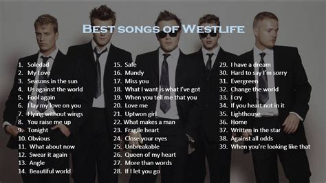 The Best Song Best Songs Of Westlife