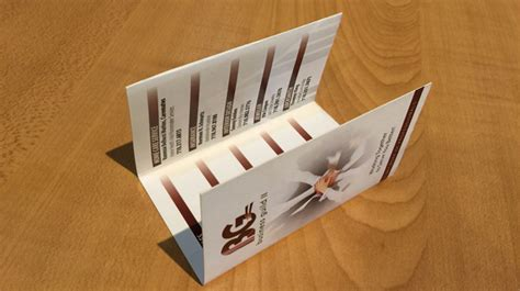 tri fold business cards template awesome tri folded business cards printing