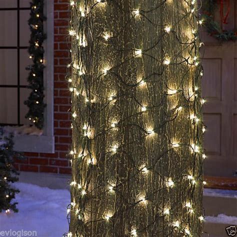 6 x 4 tree trunk wrap net 150 clear lights