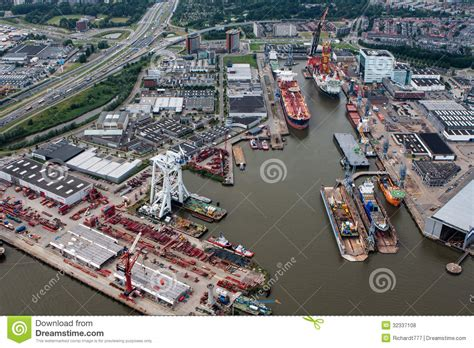 port de rotterdam photo stock 233 ditorial image 32337108