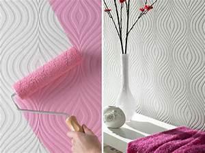 Tapeten Muster Wände : ausgefallene tapeten designs f r ihre schicke wanddekoration ~ Markanthonyermac.com Haus und Dekorationen