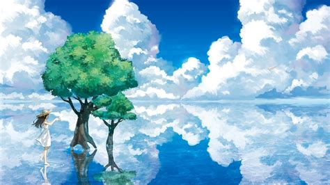 Animated Sky Wallpaper - animation nature sky clouds water wallpapers hd