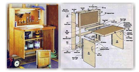diy fold  workbench woodarchivist