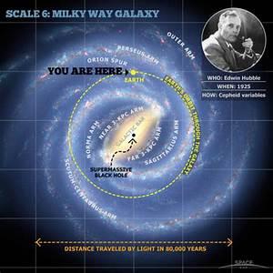 Milky Way Galaxy Map | Credit: Milky Way Galaxy map ...