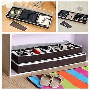 Aufbewahrungsbox Mit Deckel Stoff : aomeiqi unterbettkommode stoff kleideraufbewahrung schuhaufbewahrung unterbett aufbewahrungsbox ~ Watch28wear.com Haus und Dekorationen