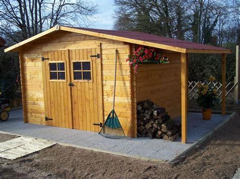 abri de jardin en bois avec bucher venise 14 97m ep 28mm foresta abri de jardin avec bucher