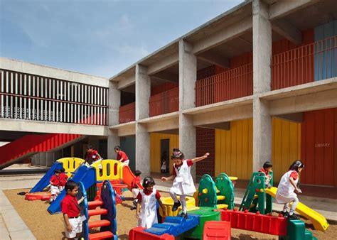 news emerging trends in school design cullinan studio 121   dezeen DPS Kindergarten by Khosla Associates ss 8
